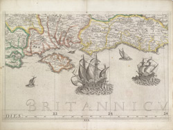 Britannia Insularum In Oceano Maximo - Sheet 15